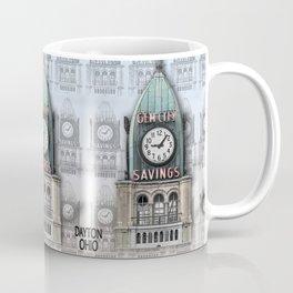 Gem City Clock II Coffee Mug