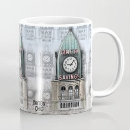 Gem City Clock II Coffee Mug