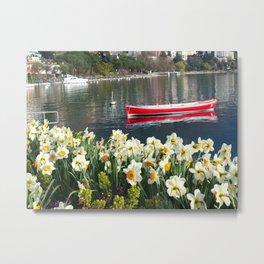 Swiss Riviera IV Metal Print