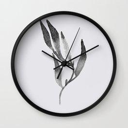 Baesic Mono Floral (Leaf 1) Wall Clock