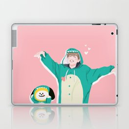 Dinosaur Chimmy (Pink Ver.) Laptop & iPad Skin