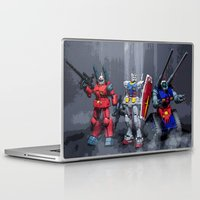 gundam Laptop & iPad Skins featuring MS 0079 by romar