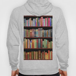 Book Lovers Gifts, Antique bookshelf Hoody
