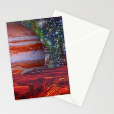 Looking At Jupiter Stationery Cards