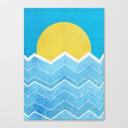 Summer Sea's Canvas Print