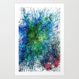 Abstract Synapse 293 Art Print