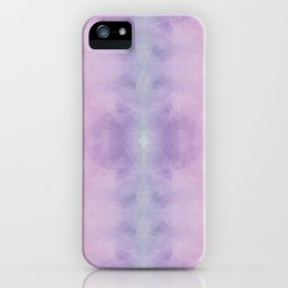 Kaleidoscopic design in soft pastel colors iPhone Case
