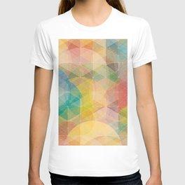 Color Pattern T-shirt