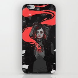 The Witch's Familiar iPhone Skin