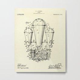 Air Ship-1911 Metal Print
