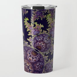 Dragon spirals with Orbs Travel Mug