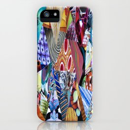 Collage - Triangulation iPhone Case