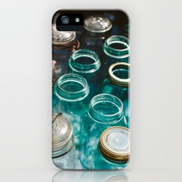 Ball Jars in Blue iPhone Case