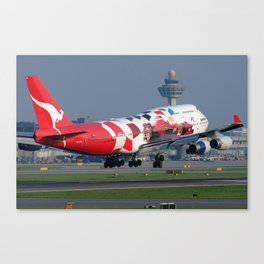 Formula 1 B747 special colour scheme Canvas Print