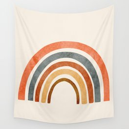 Abstract Rainbow 88 Wall Tapestry
