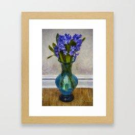 Hyacinyth Heaven Framed Art Print