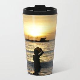 a drop in the ocean Metal Travel Mug