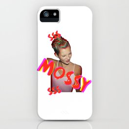 Mo$$y Colorful iPhone Case