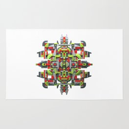 Steampunk Snowflake Rug