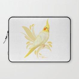 Lutino Cockatiel Laptop Sleeve
