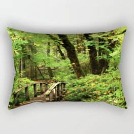 Bridge To A Fairy Tale Rectangular Pillow