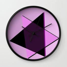 Oh blacky pink ... Wall Clock