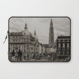 Watching the Cathedral Laptop Sleeve
