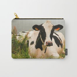 Holstein cow facing camera Carry-All Pouch