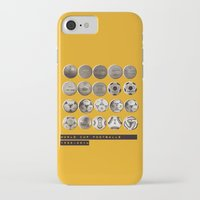 world cup iPhone & iPod Cases featuring World Cup Footballs by Thomas Orrow