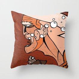 Aguaman Throw Pillow