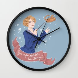 You prefer strudel,huh,Honey? Wall Clock