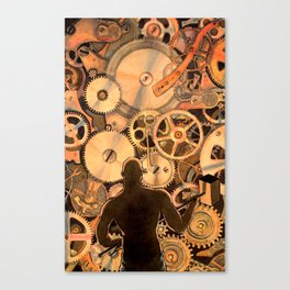 Steel Drivin' Man Canvas Print