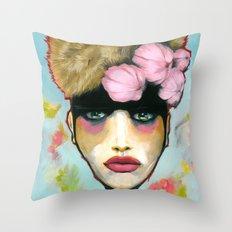 Level Of Her Eye Throw Pillow