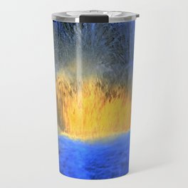Fire on Water Travel Mug