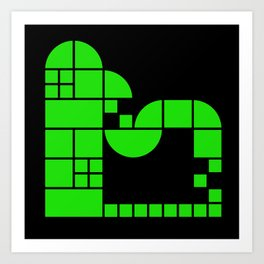 Live Tile Factory Art Print