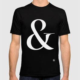 Turquoise's Ampersand T-shirt