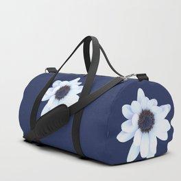 Sleepy African Daisy Flower Duffle Bag