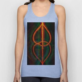 twirled up and down Unisex Tank Top