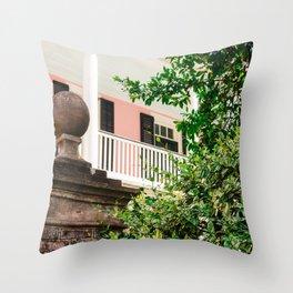 Charleston Pink IX Throw Pillow