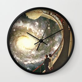 A Spiral of Confessions Wall Clock