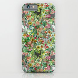 Garden Cats iPhone Case
