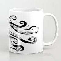 dna Mugs featuring DNA brand by 2EQUALS