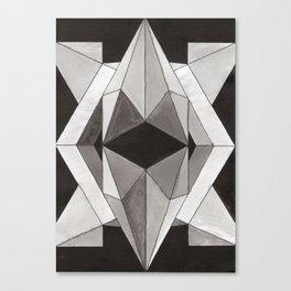 diamond reflection Canvas Print