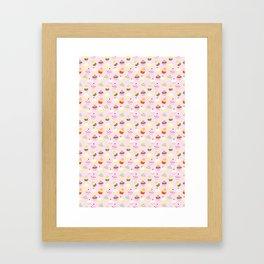 Cupcake Wonderland Framed Art Print