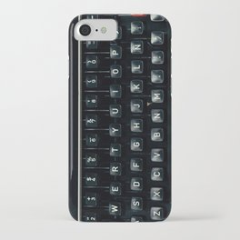 The Nostalgic Typewriter (Retro and Vintage Still Life Photography) iPhone Case