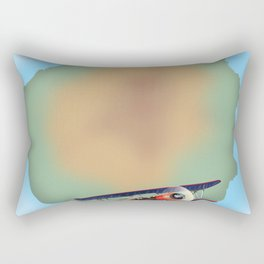 Gran Canaria canary island, travel poster Rectangular Pillow