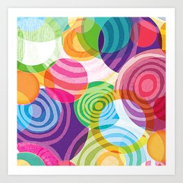 Circle-licious Sweetie Art Print