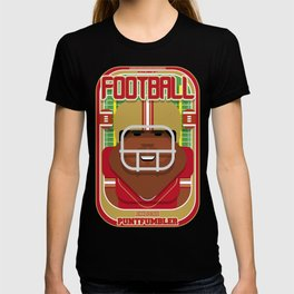 American Football Red and Gold - Enzone Puntfumbler - Hayes version T-shirt