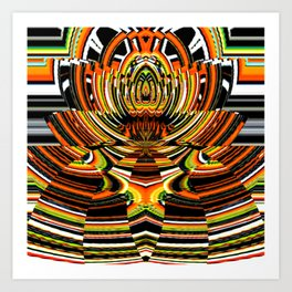 American Indian Art Abstract Art Print