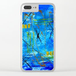 I got the blues Clear iPhone Case